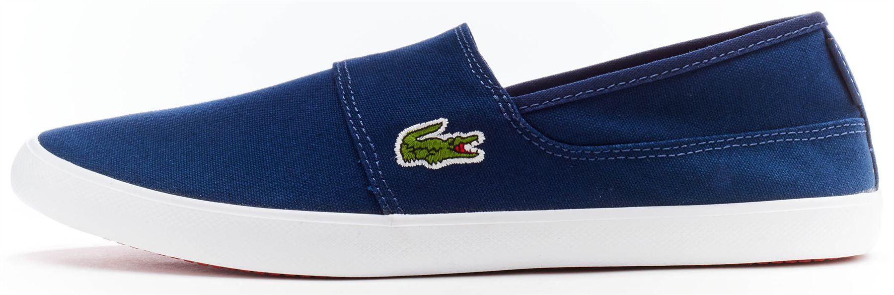 ae2fb08538af8b Lacoste Marice BL 2 CAM Lace Canvas Slip Ons Trainers in Wide Range of  Colours