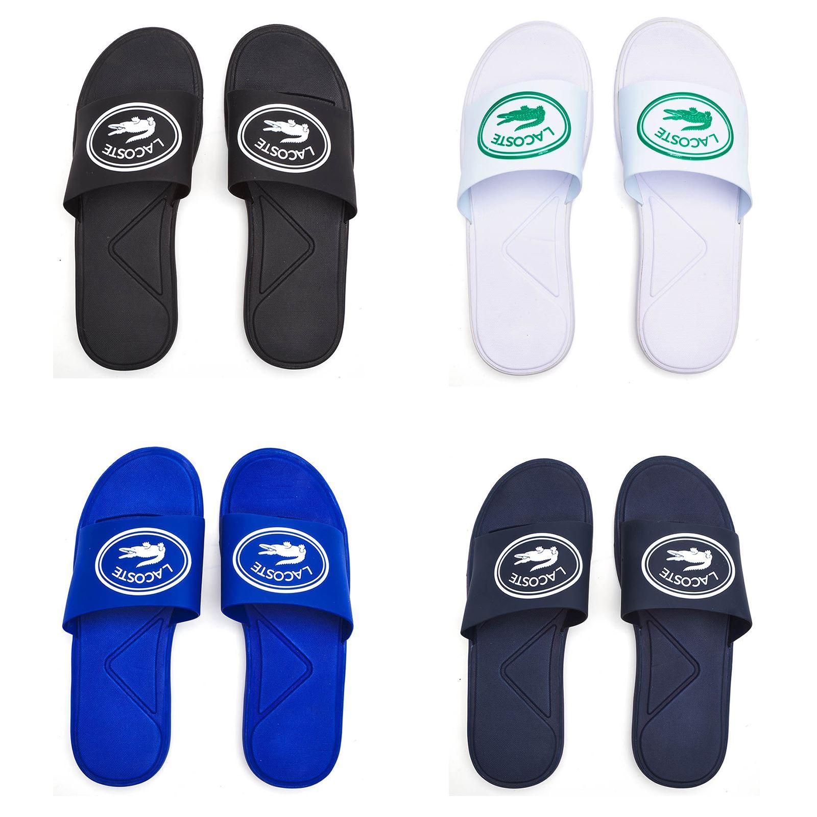 8d83d3899cfa94 Details about Lacoste L.30 119 3 CMA Slide Pool Beach Slip On Sandals in  Black