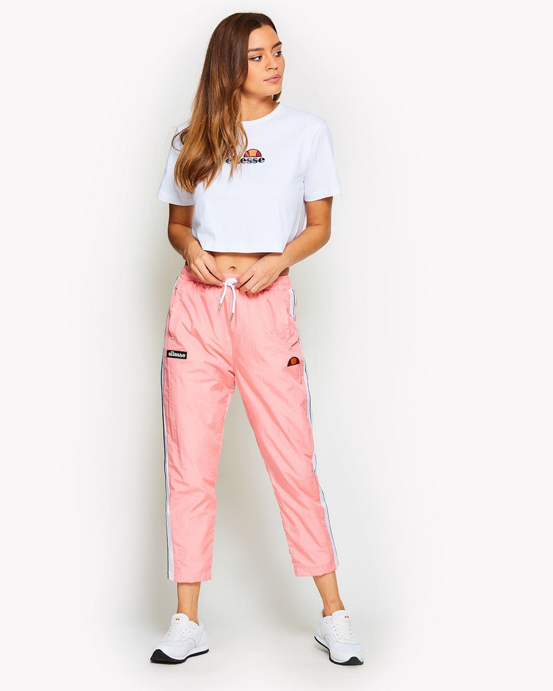 Ellesse-Women-Crop-Cotton-T-Shirt-Summer-Top-in-Pastel-Colours thumbnail 14