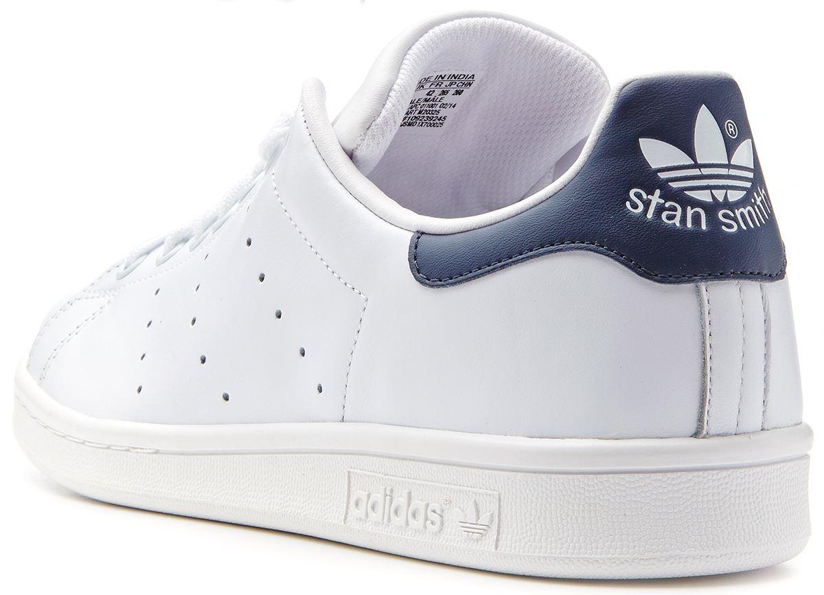 mens adidas stan smith blue