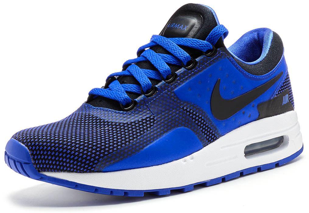 Nike Air Max Zero Essential GS Trainers in Paramount & Binary Blau 881224 004