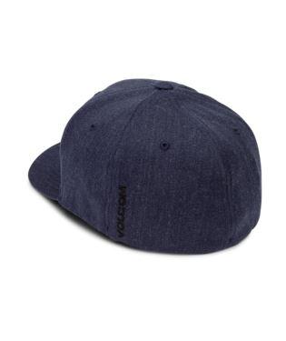 f47ed5d4a9a47 Volcom Full Stone Xfit Cap in Black   Embroided Logo D5511105