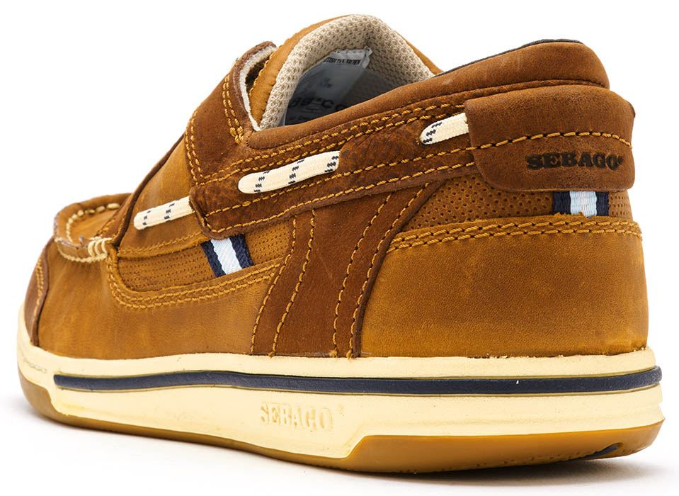 Sebago-Triton-Three-Eye-FGL-Suede-Boat-Deck-Shoes-in-Navy-Blue-amp-Brown-Cognac thumbnail 20