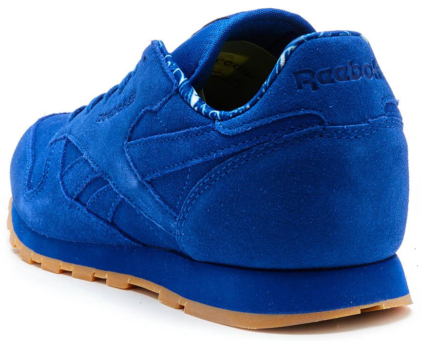 d2fec0b845aa3 Men Reebok Classic Leather Suede Nylon Retro Trainers in All Sizes ...