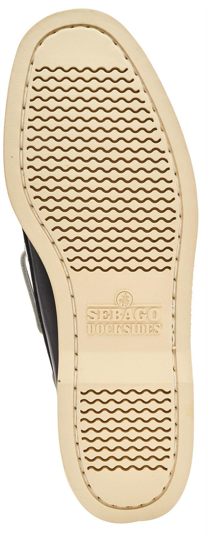 Sebago-Docksides-NBK-Suede-Boat-Deck-Shoes-in-Navy-Blue-amp-Coral-amp-Dark-Brown thumbnail 25