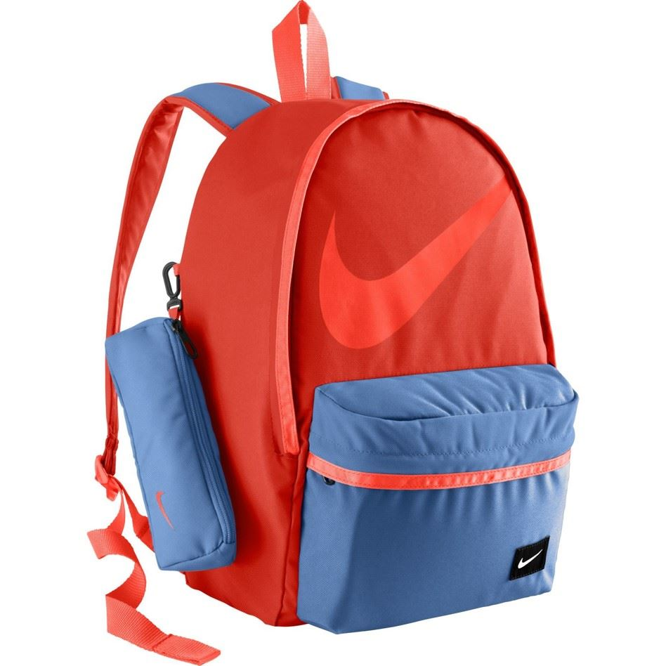 Nike Young Halfday Back to School Rucksack Backpack in Blue   Red BA4665  406 696 fed8fa8de81ad