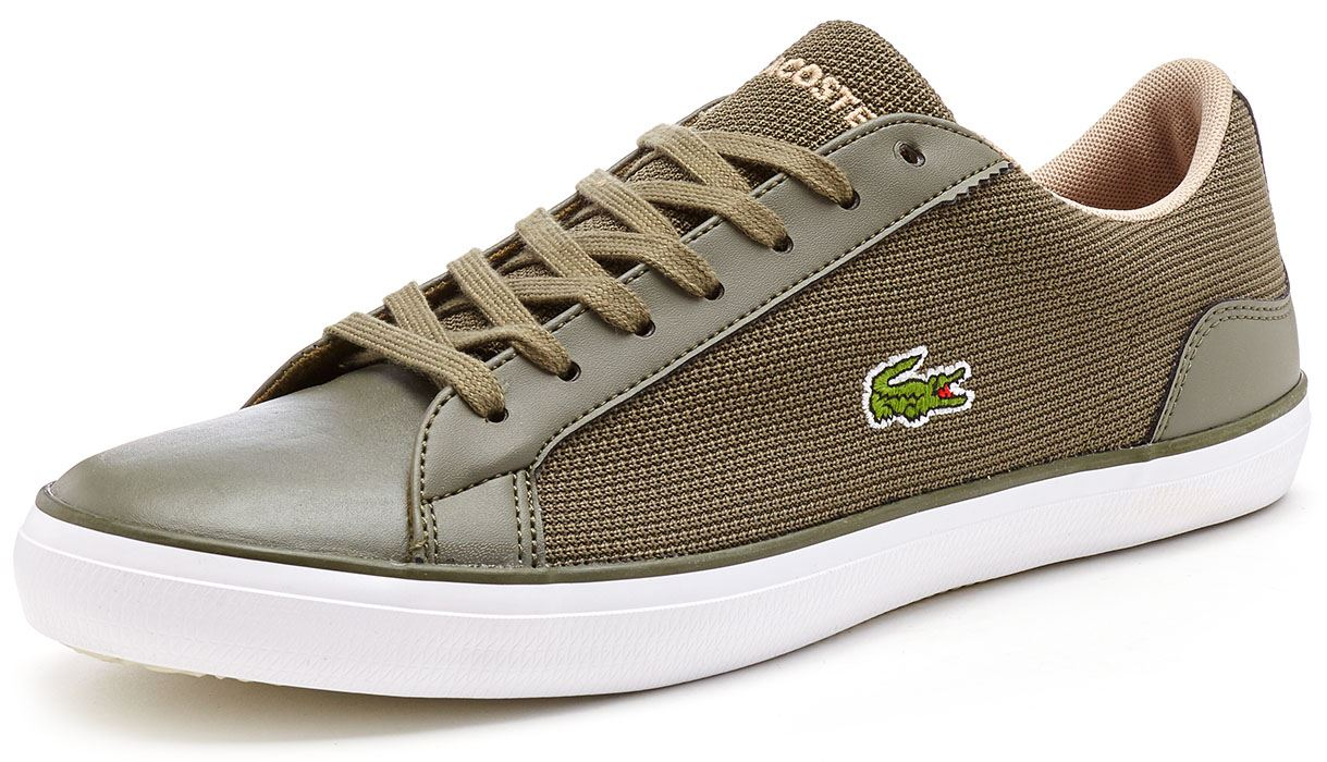 9b62a4e5d40d3 Lacoste Lerond BL 1   2 CAM   SPM Leather   Textile Trainers in All ...