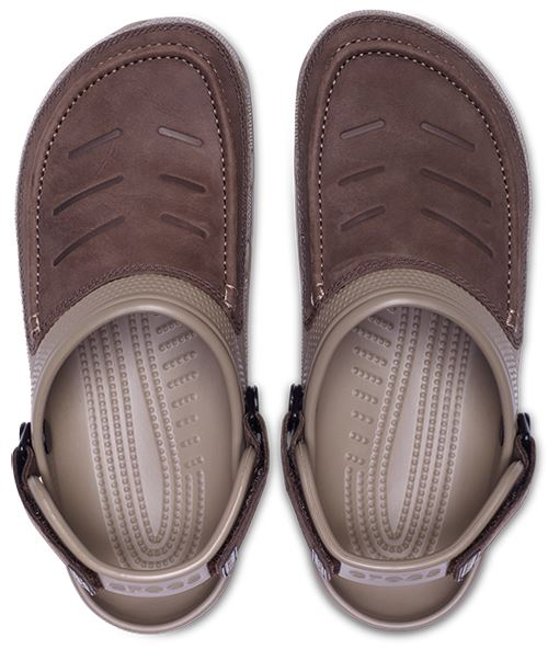 9e898b2c314c0 Crocs Yukon Vista Roomy Fit Clog Shoes Sandals in Espresso Khaki ...