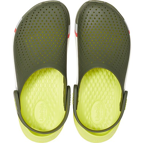 Crocs-Lite-Ride-Relaxed-Fit-Clog-Shoes-Sandals-Black-Grey-White-amp-Blue-204592 thumbnail 23