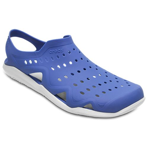azul Jean Crocs 203963 en Swiftwater Wave Beach marino Sandalias Summer y color negro d0wC7zdqx