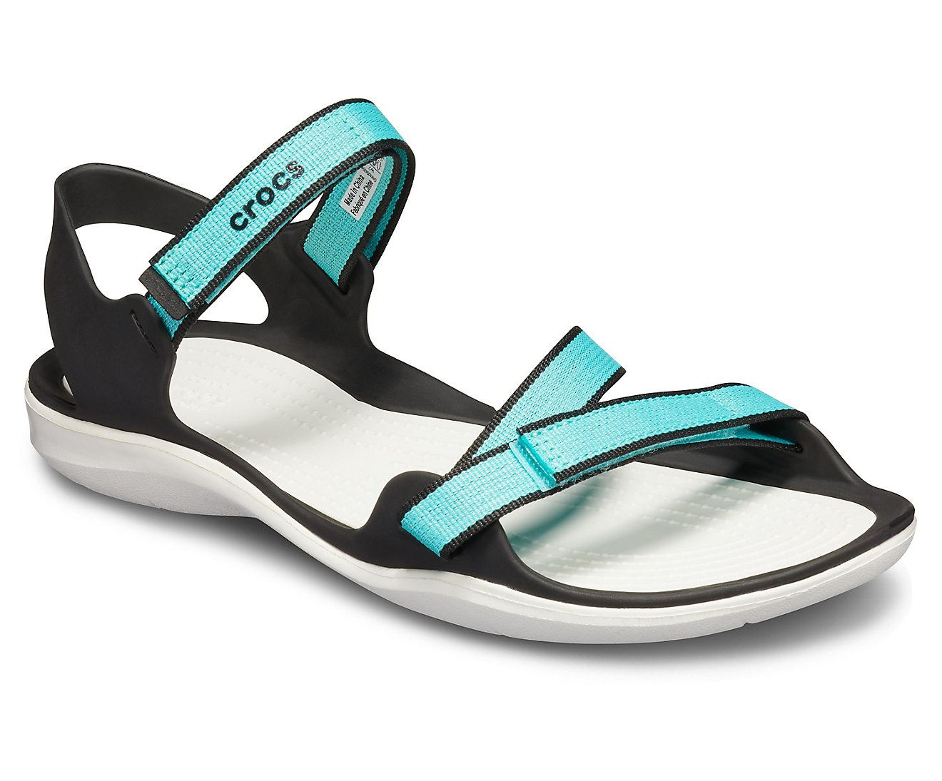 Crocs-Swiftwater-Webbing-Summer-Pool-Beach-Relaxed-Fit-Adjustable-Sandals thumbnail 12