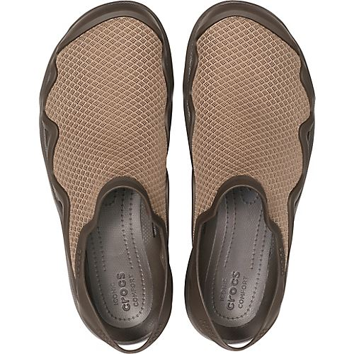 1009f3a3699a Crocs Swiftwater Mesh Wave Standard Fit Summer Pool Beach Sandals