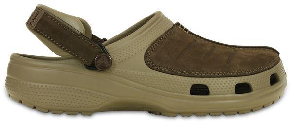 Crocs-Yukon-Mesa-Clog-Shoes-Sandals-in-Khaki-Espresso-Brown-amp-Navy-Blue-203261 thumbnail 20