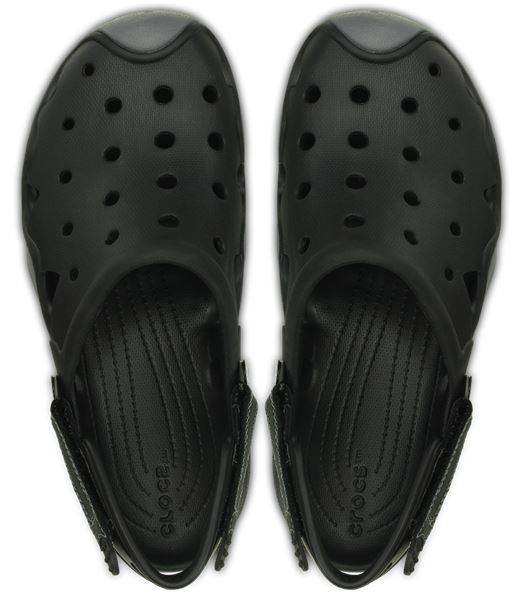 202251 Sabots Swiftwater Vert Noir Marron En Crocs Sandales 4CdPwq50