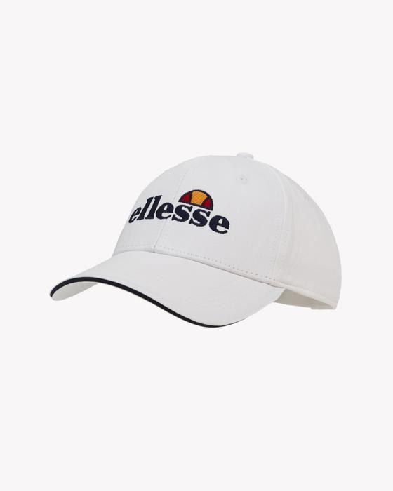 7e008677d6 Mens Hat ellesse Ragusa Baseball Cap | White