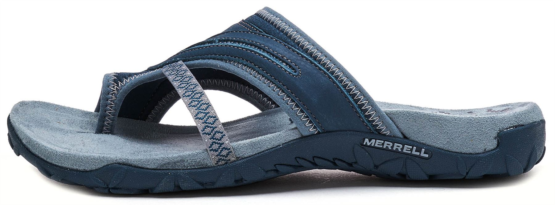 2d1d1c64c312 Details about Merrell Terran Post II Women Sandals in Slate Blue J98750