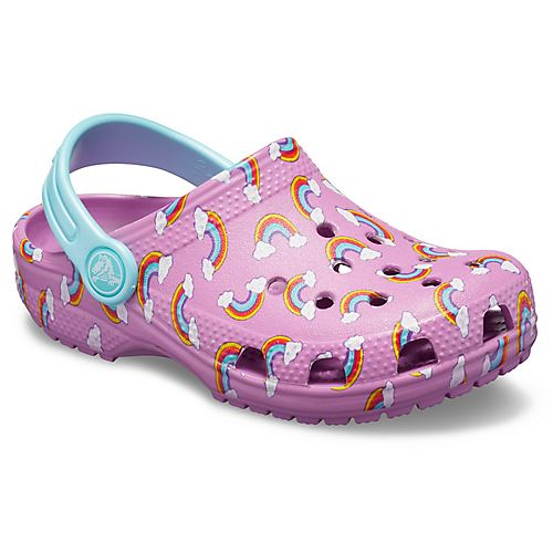 Crocs-Classic-Graphic-amp-Drew-Barrymore-Kids-Clogs-Shoes-Sandals-in-Wide-Colours thumbnail 32