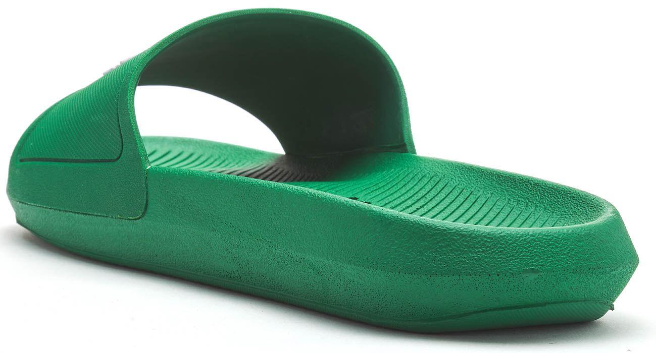 8efd99324f4b8 Lacoste Croco 119 1 CMA Slide Pool Beach Sandals in Black