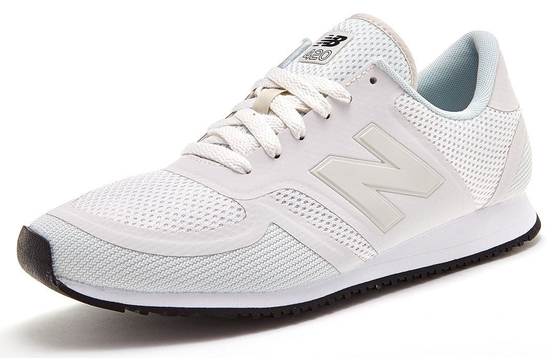 new balance 420 all white