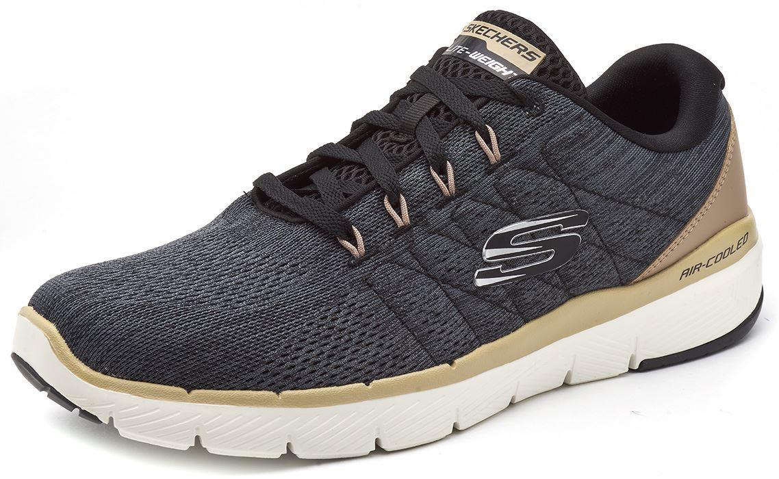 Skechers-FLEX-ADVANTAGE-3-0-con-Cordones-Fitness-Correr-Entrenadores-de-espuma-de-memoria miniatura 7