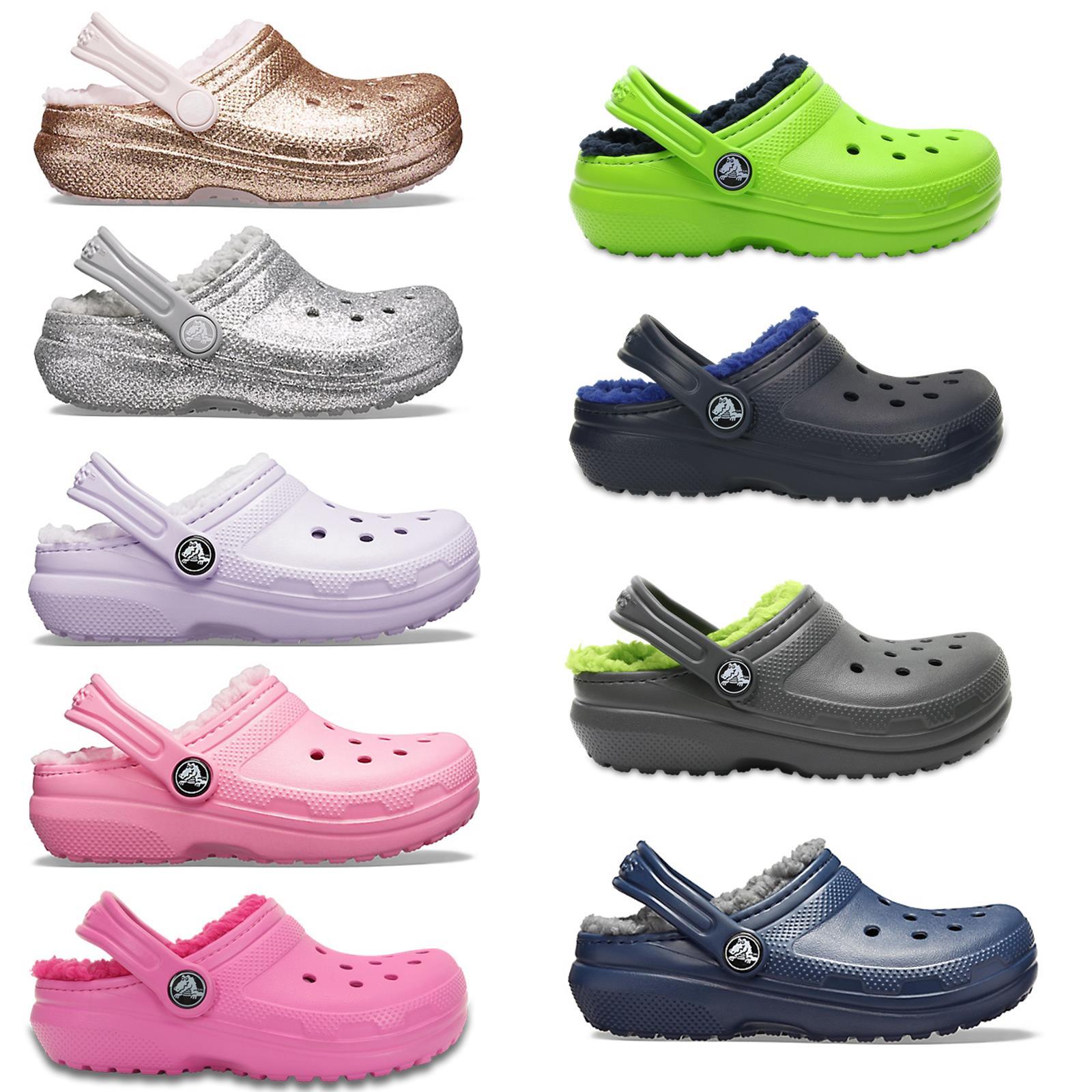 Crocs Kids Classic Fuzz Fleecefutter
