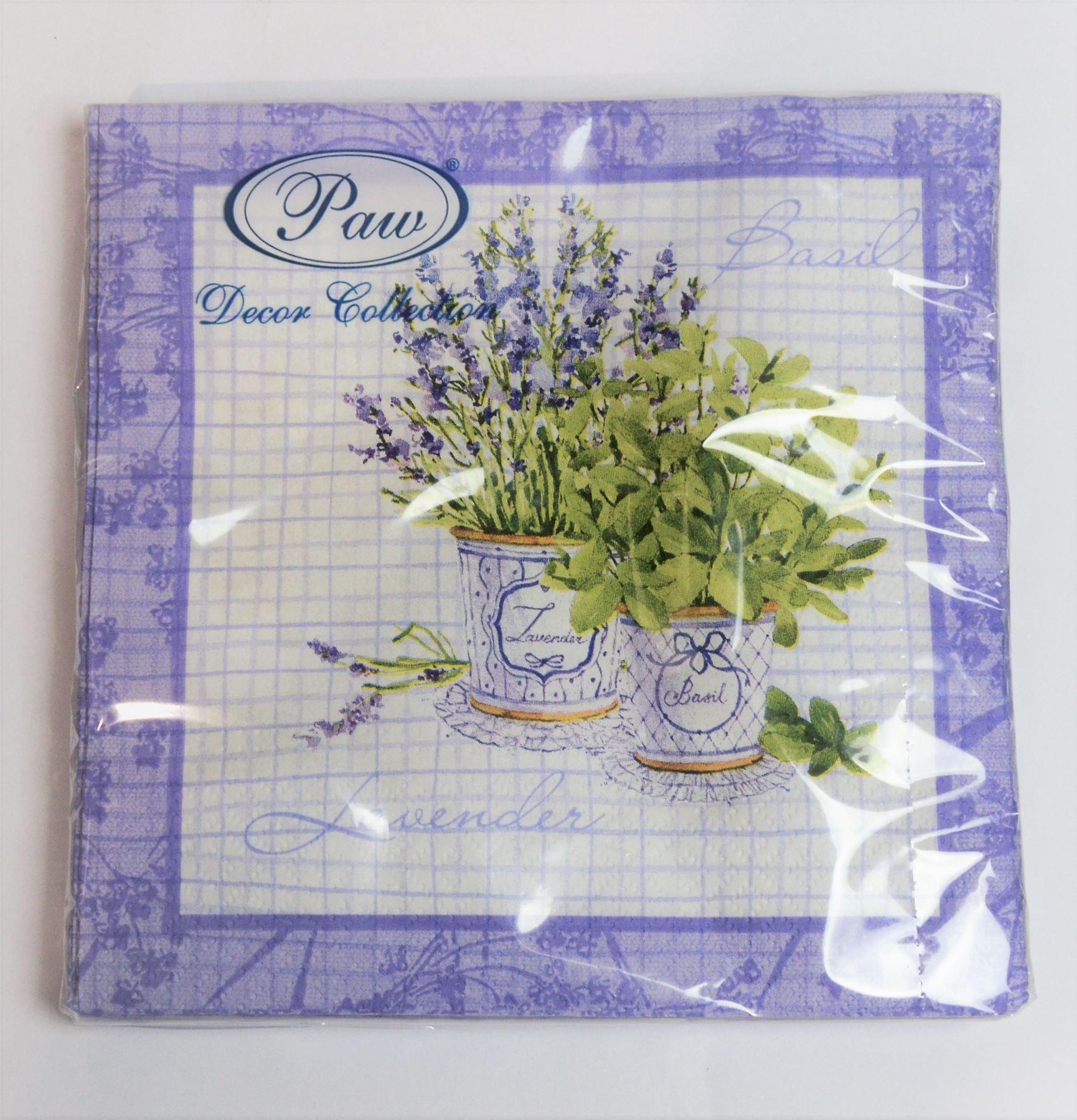 20 pck beautiful vintage decorative paper napkins nature - Decorative Paper Napkins