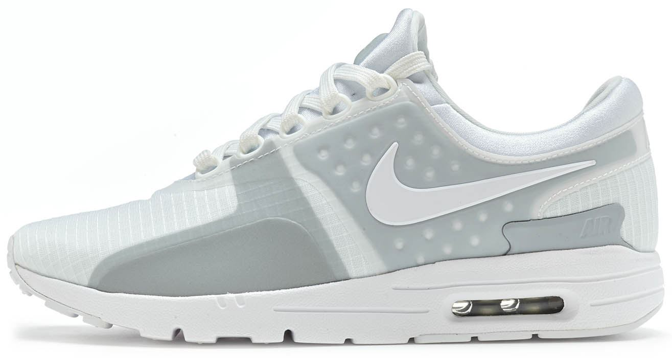 32ceb6087b99 Details about Nike Air Max Zero SI Women Trainers in White