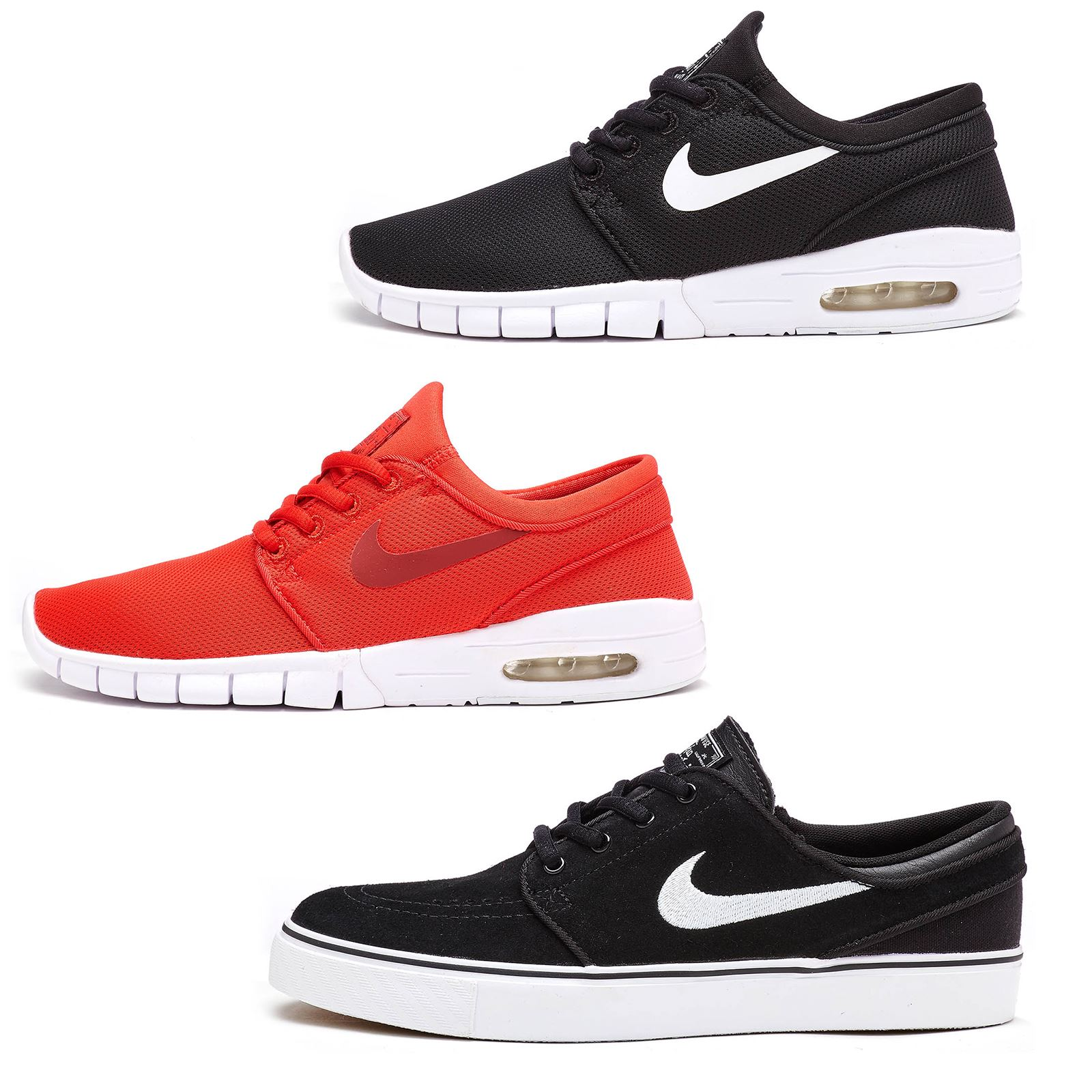 56cf63c4845f Details about Nike SB Stefan Janoski Max   Zoom GS Mesh   Suede Trainers in  All Sizes