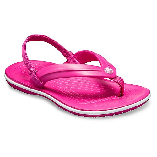 Crocs-Crocband-Kids-Ankle-Strap-Flip-Flops-Pool-Beach-Relaxed-Fit-Summer-Sandals thumbnail 9