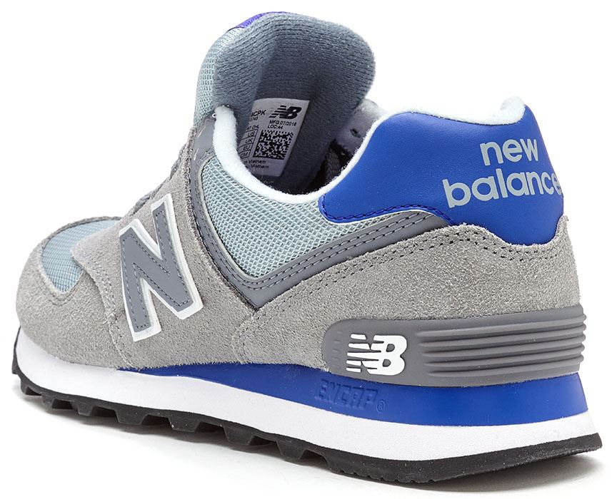 New Balance 574 Classic Suede   Textile Retro Trainers in All Sizes ... 71ed95c0854