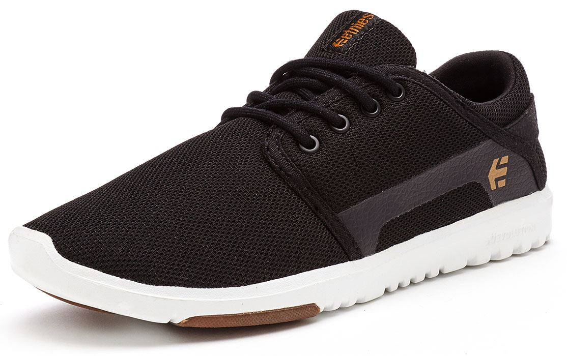 Etnies-Scout-Trainers-in-Black-amp-Grey-Black-