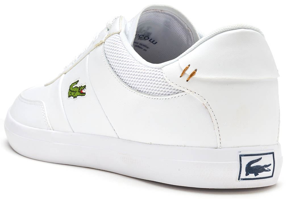 Court Master Trainers In White - White Lacoste CasLnMwJ06