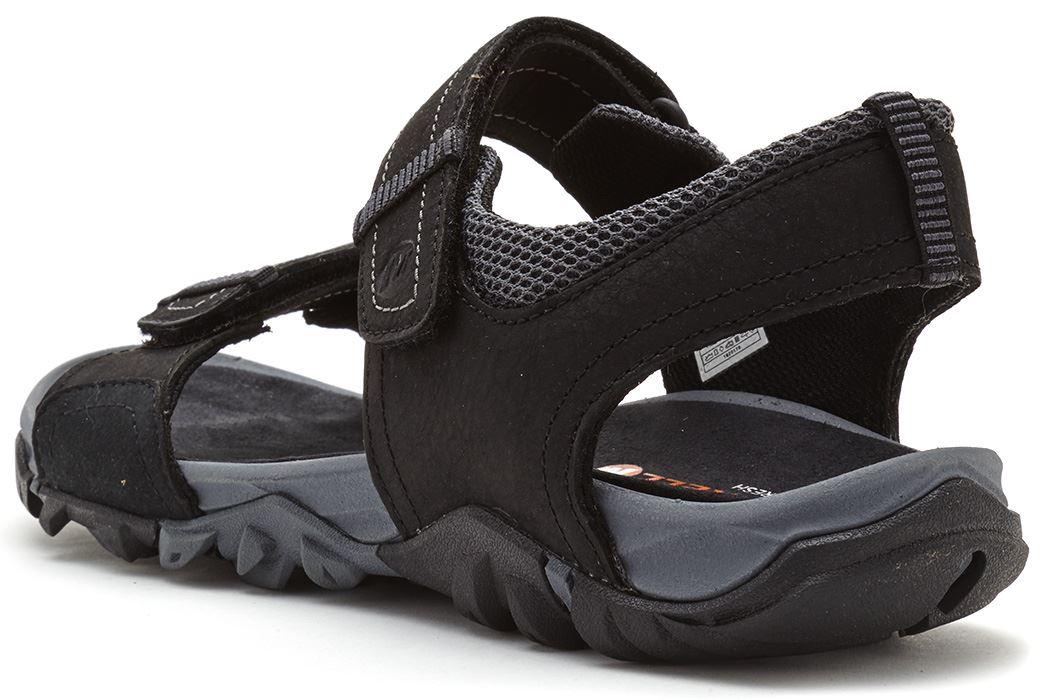 e5350b7eb6f Mens Merrell Telluride   Mojave Strap Sandals in Black   Brown in ...