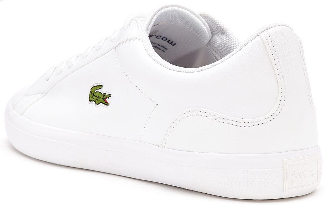 Lacoste LEROND BL 1 CAM - Zapatillas white ni7thM