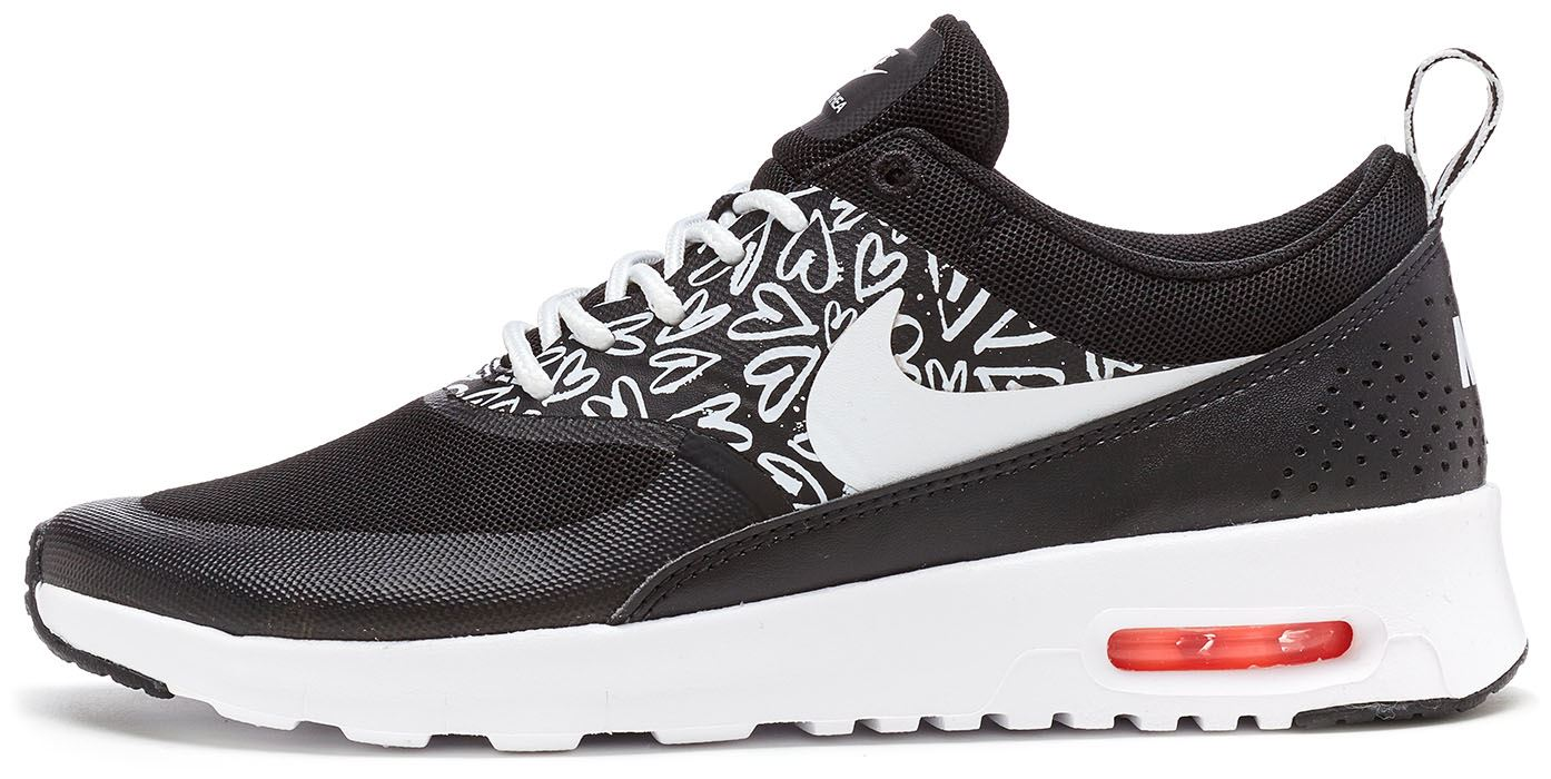 Details about Nike Air Max Thea GS Trainers in Black 25328b23741f3