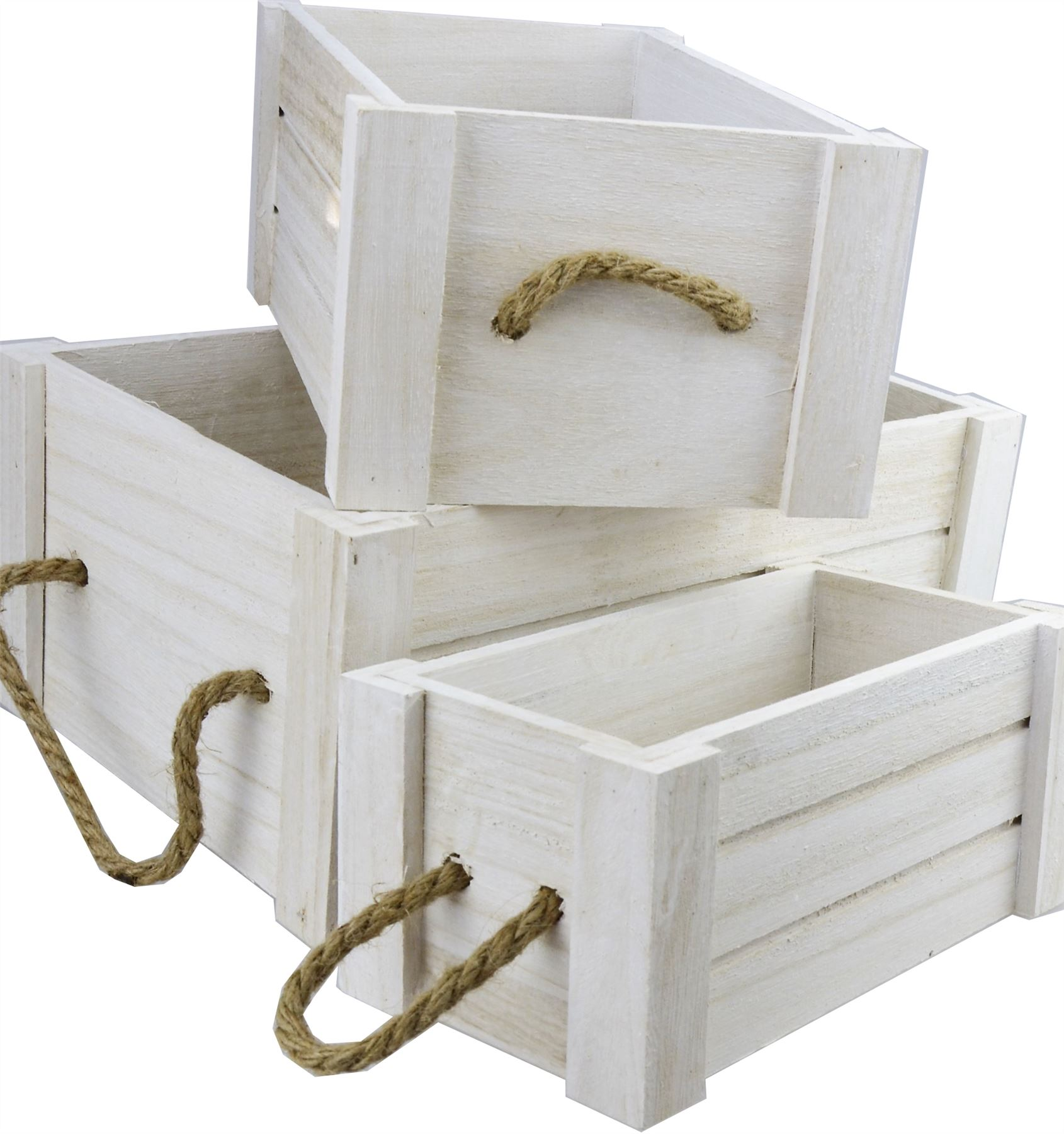 Storage Boxes Bathroom: Vintage Wooden Apple Crate Shabby Chic Box Fruit Kitchen