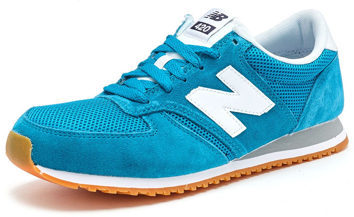 New Balance 420 Classic Retro Trainers in Mesh Größes & Suede in All Größes Mesh 101cdb