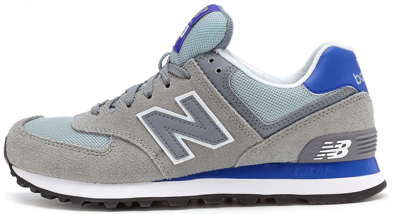 45301d98df4 Details about New Balance 574 Core Plus Retro Women Trainers in Steel Grey    Purple WL574 CPK