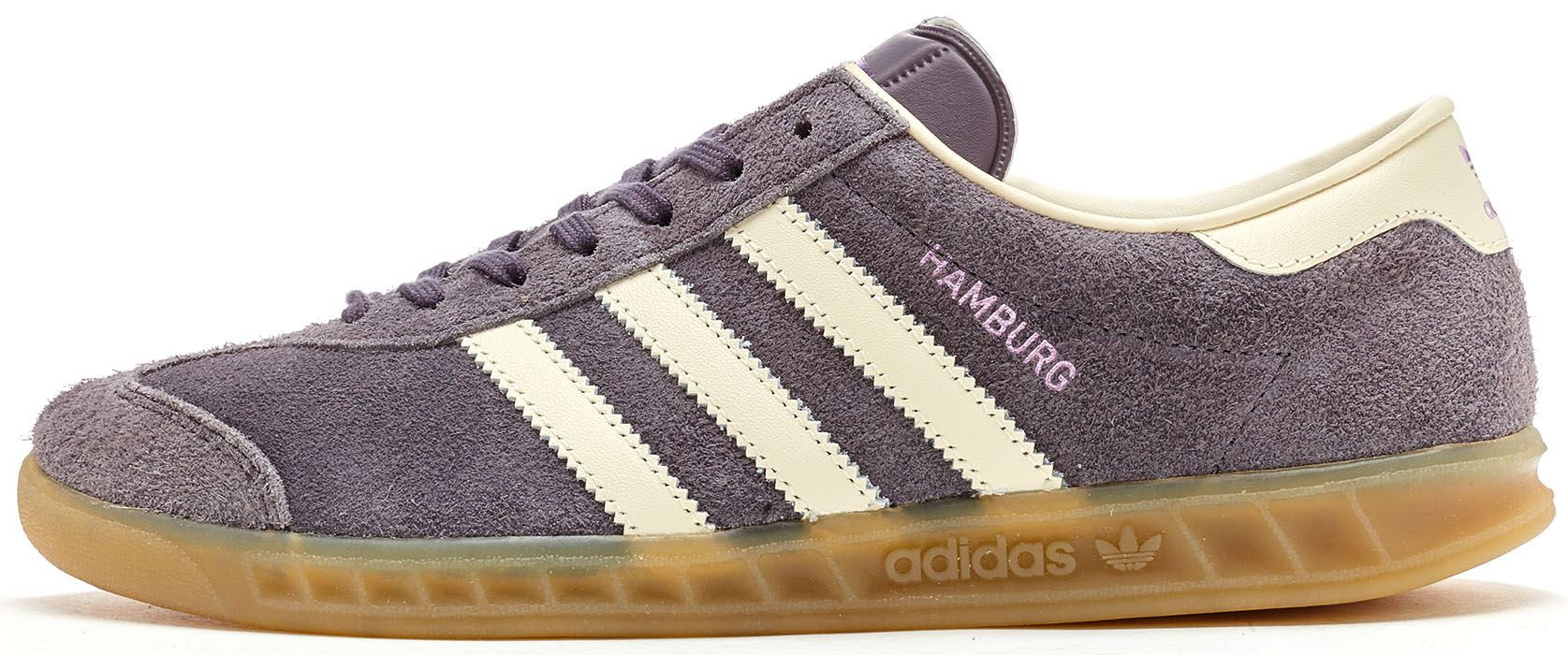 Adidas Hamburg Women Trainers in Trace Grey & Off White BB5109