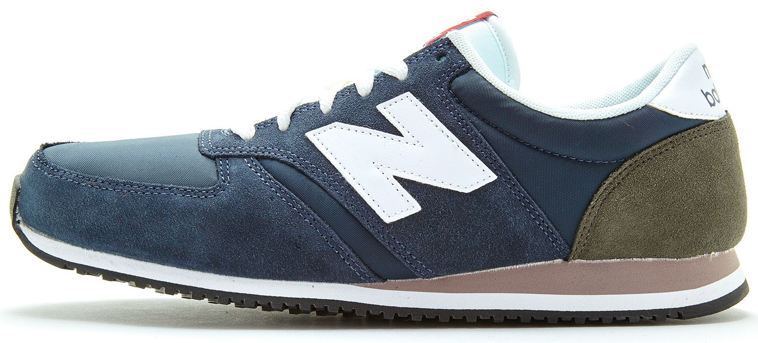 new balance navy 420 trainers