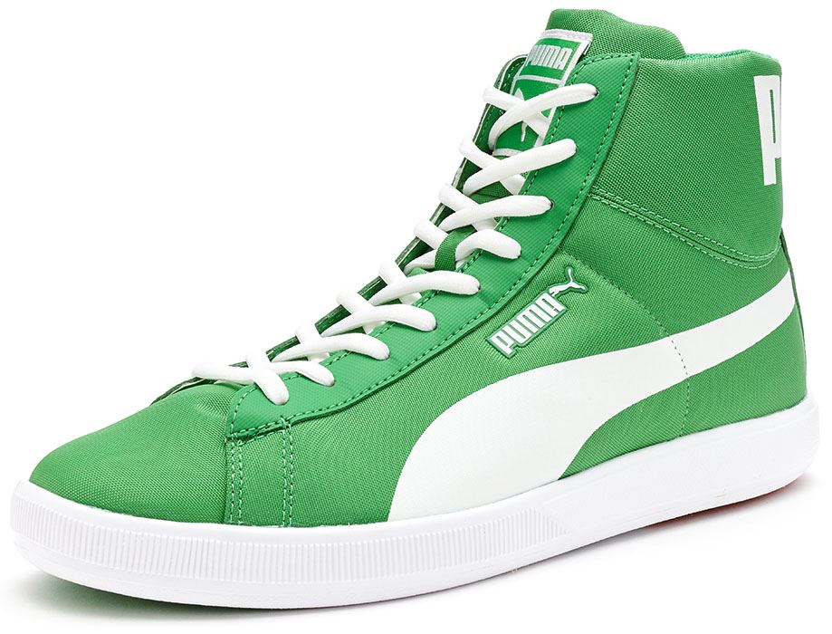 Baskets Puma Archive Lite Mid Washed Chaussures en Gris - Vert 355536 03 [UK 8EU 42] 2fmUd1lu