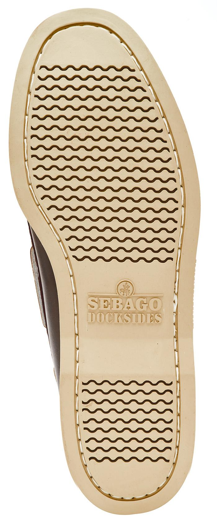 Sebago-Docksides-NBK-Suede-Boat-Deck-Shoes-in-Navy-Blue-amp-Coral-amp-Dark-Brown thumbnail 9