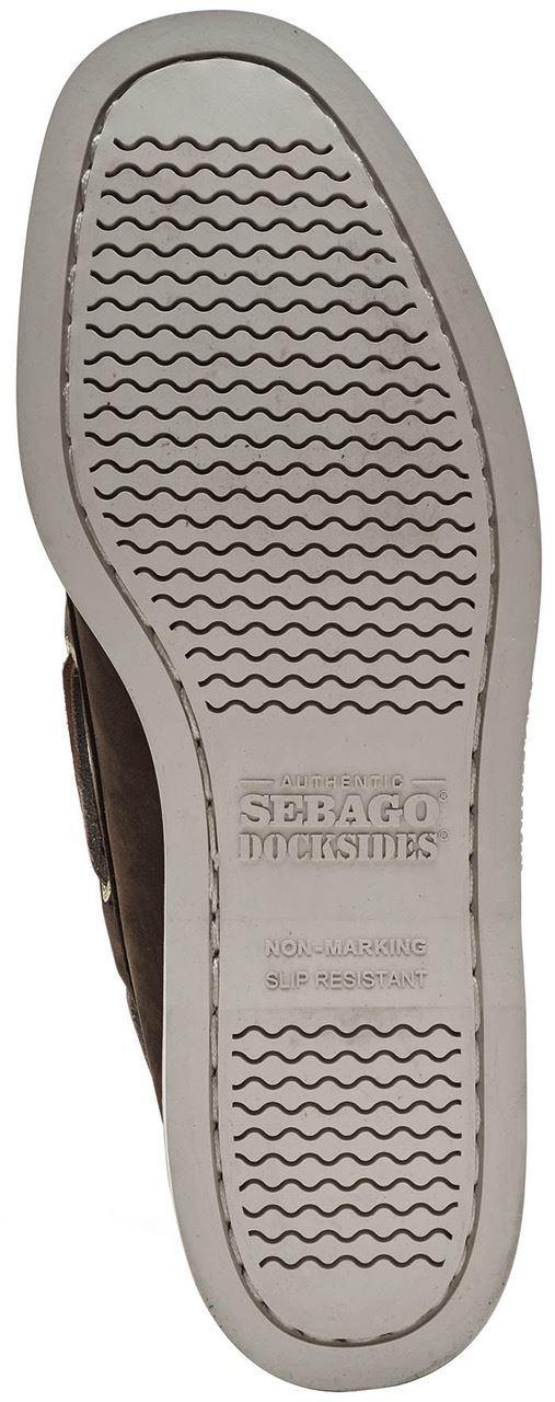Sebago-Docksides-NBK-Suede-Boat-Deck-Shoes-in-Navy-Blue-amp-Coral-amp-Dark-Brown thumbnail 17
