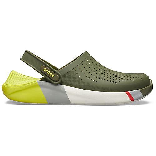 Crocs-Lite-Ride-Relaxed-Fit-Clog-Shoes-Sandals-Black-Grey-White-amp-Blue-204592 thumbnail 21