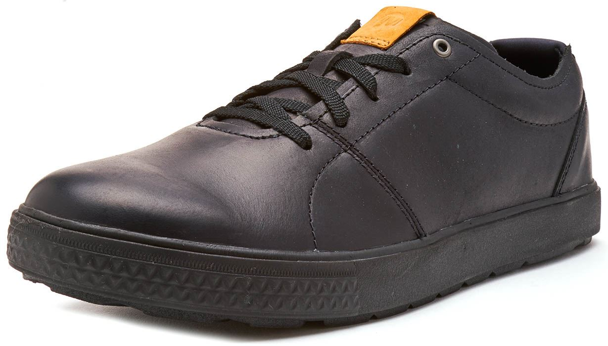 Merrell-Barkley-Full-Grain-Lace-Up-Leather-Shoes-Trainers-Tan-amp-Brunette-Brown thumbnail 3