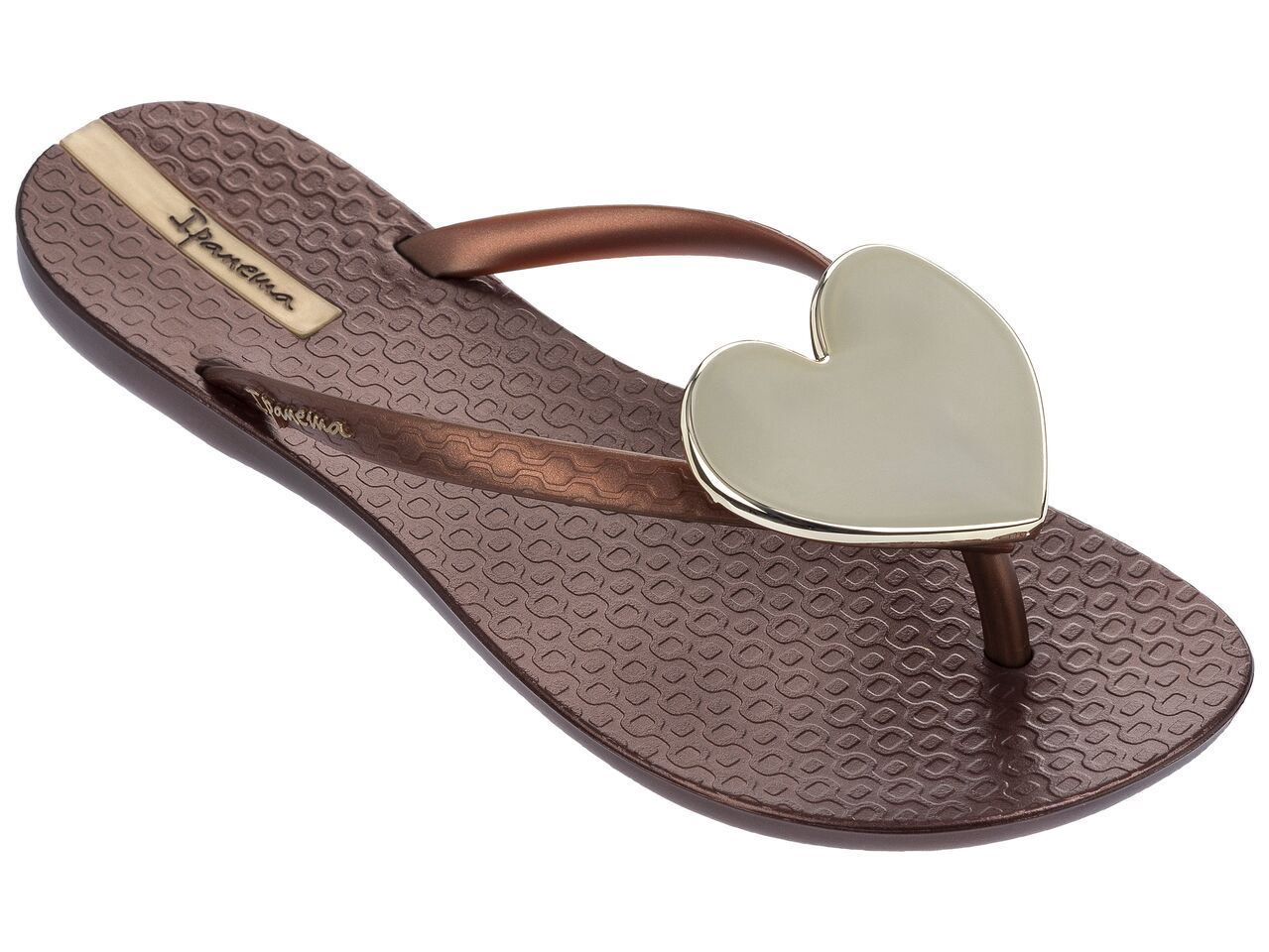 3c13e0cbf90 Ipanema Wave Maxi Heart Flip Flops Slim Footbed Beach Sandals 82120 ...