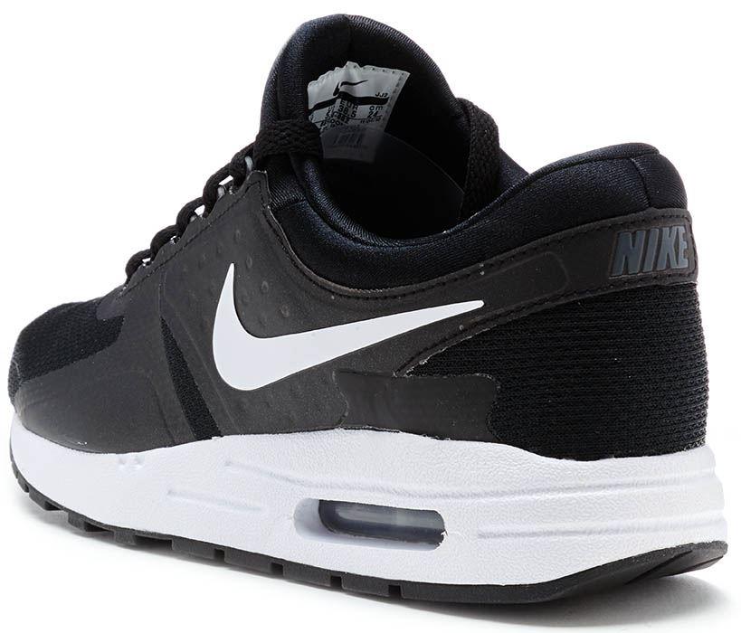 Dettagli su Nike Air Max Zero Essenziale GS Scarpe da Ginnastica Nero, Grigio Scuro & Bianco