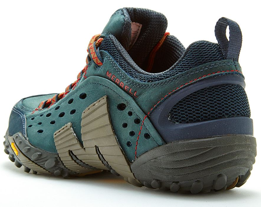Merrell-Intercept-Hiking-Shoes-in-Moth-Brown-amp-Blue-Wing-amp-Black thumbnail 8