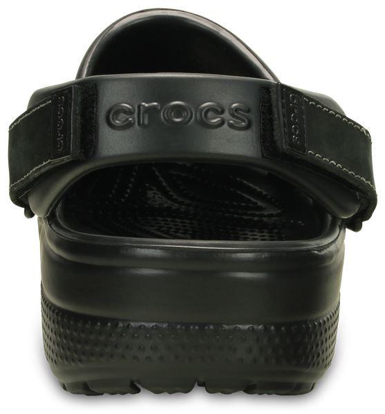 Crocs-Yukon-Mesa-Clog-Shoes-Sandals-in-Khaki-Espresso-Brown-amp-Navy-Blue-203261 thumbnail 6