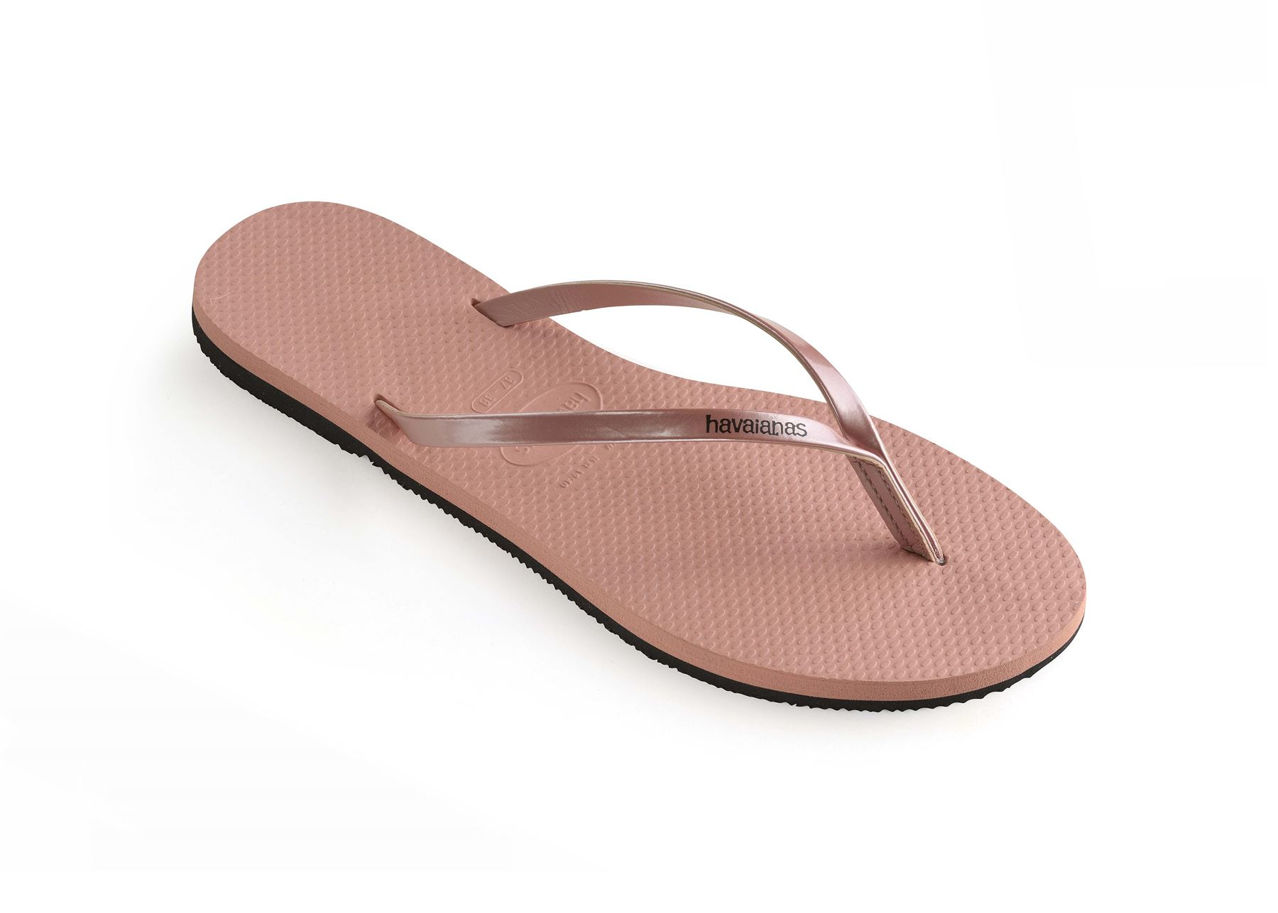Havaianas-You-Metallic-Flip-Flops-Women-Summer-Beach-Sandals-Wide-Range-Colours miniature 8